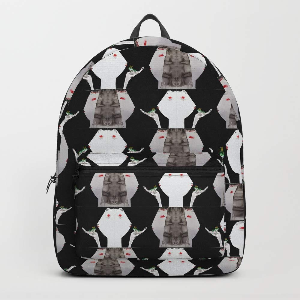 Society6 Backpack, 1000 Black Weddings by vanesacasuso, Standard Size