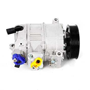 OUKANING 0300K029 Compresor de aire acondicionado: Amazon.es: Coche y moto