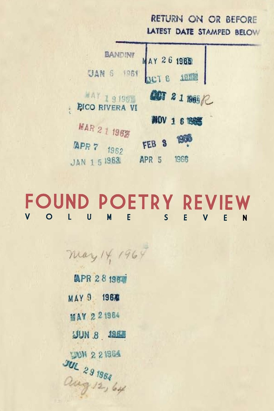 Read Online Found Poetry Review (Volume 7) ebook