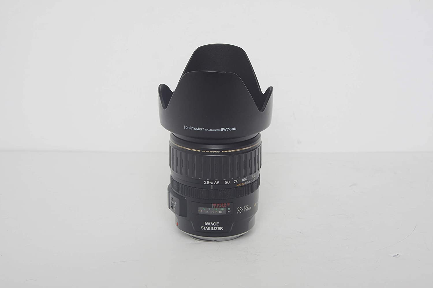 Canon 2562A002 EF 28-135mm f/3 5-5 6 IS USM Standard Zoom Lens for Canon  SLR Cameras