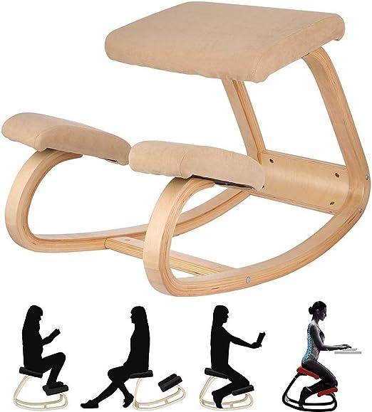 Silla ergonómica de la rodilla de equilibrio - Silla antibalanceo ...