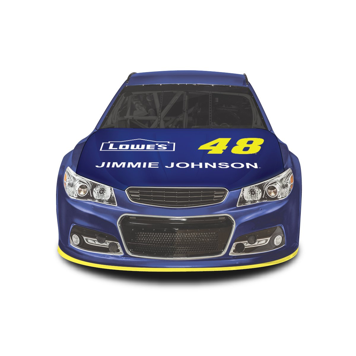 NASCAR Car Hood Cover #48 Jimmie Johnson Fits All Sizes