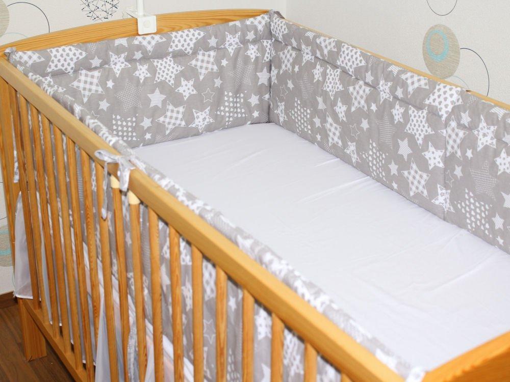 420 cm RUNDUM NESTCHEN Kopfschutz f/ür Baby Bett 70x140 D1