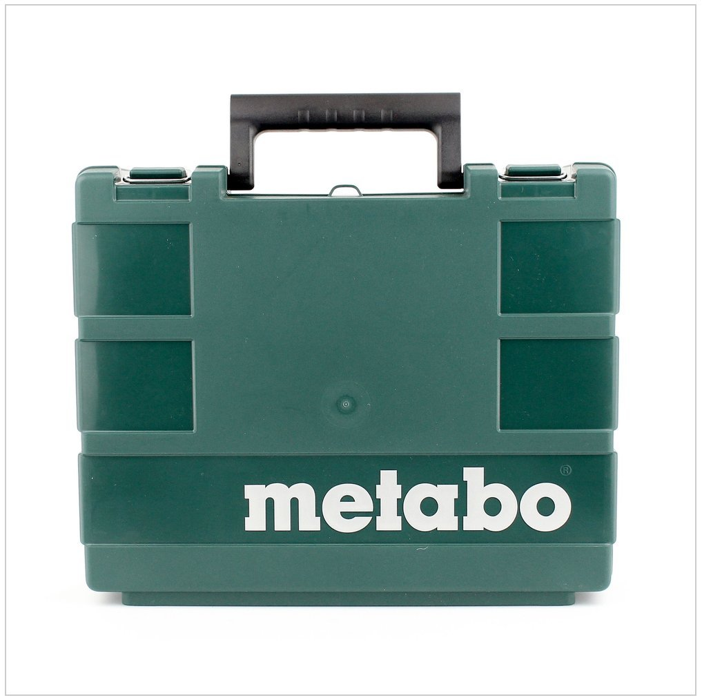 2x 10,8 V//2 Ah Metabo Akku-Bohrschrauber Lampe Powermaxx BS Basic Set 1 St/ück 600080530
