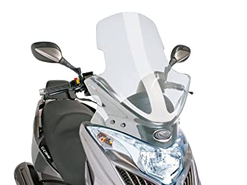 Yager GT 125i//300i Puig 6728W Windschutzscheibe Cockpitverkleidung Touring f/ür Maxiscooter Kymco G-Dink 50//125i//300i 2012-2015 Medium Transparent