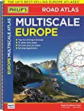 Philip's Multiscale Europe: Spiral A3 (Road Atlas Europe)