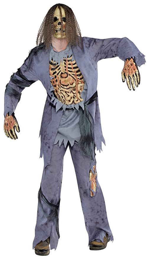 Amscan - 844189-55 - Traje de Halloween - Hombre - Zombie ...