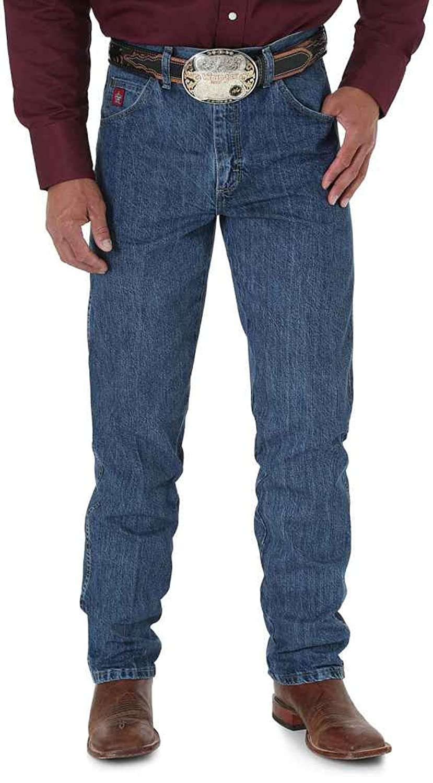 Wrangler Men's Jeans Pbr Relaxed Fit - 26Pbras