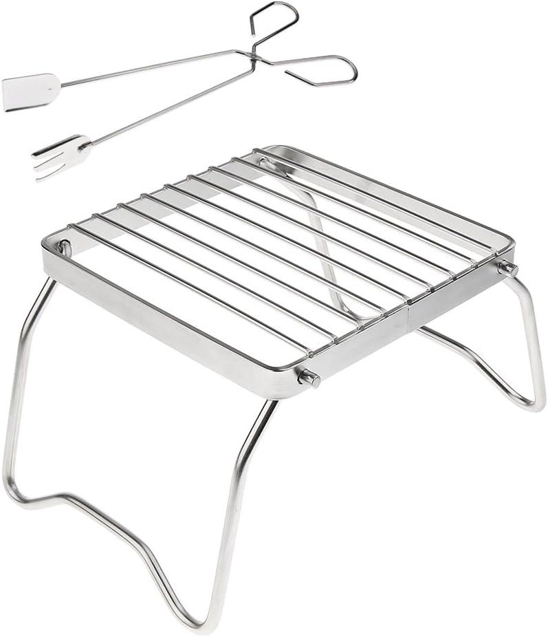 Gadget De Camping Pliable De Pain De Pain De Camping De Grille-pain De Cuisini/ère Dacier Inoxydable Pour Le Pique-nique Ext/érieur