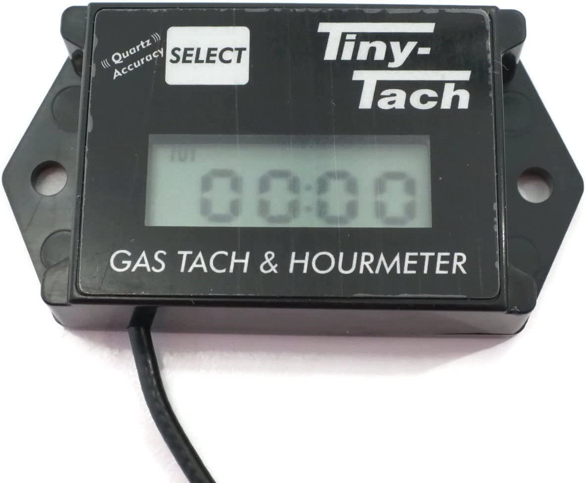Commercial TINY TACH Hour Meter//Tachometer for RC Boats Cars /& Air Planes by The ROP Shop
