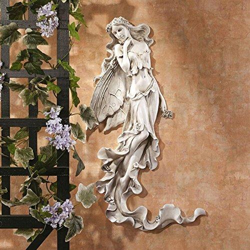 Design Toscano Brianna the Summer Breeze Fairy Wall Sculpture