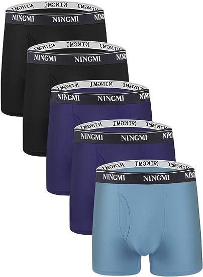 EX HANES Mens Size M,L,XL Fresh IQ Tag Free Boxers Briefs Underwear 100/% Cotton