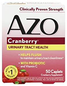 Azo: Urinary Tract Health Cranberry, 50 tabs (2 pack)