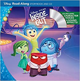 Book Inside Out Read-Along Storybook and CD (Disney Storybook and CD)