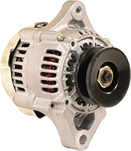 DB Electrical AND0212 Alternator Compatible With/Replacement For Chevy Mini Alternator Denso Street Rod Race 3-Wire, Case Trencher, Uni-loader, Grasshopper, Gravely, Kubota Excavator, Loader, Mower