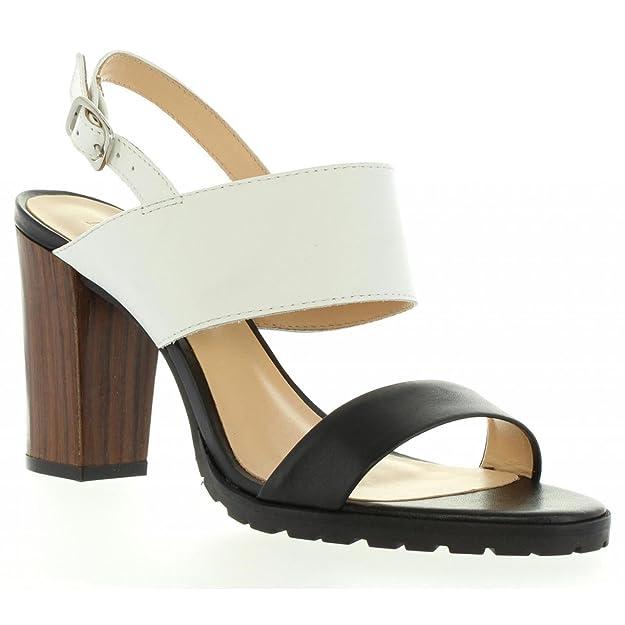 Sandales pour Femme KICKERS 502050-50 SARDAN 33 BLANC NOIR AbdKxd
