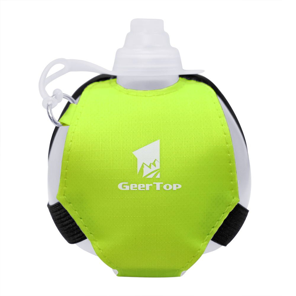 Yoga Geertop Wearable Hands Free Wrist Water Bottle for Running Jogging or The Gym Hiking Cycling Hydration System for Runners and Athletes