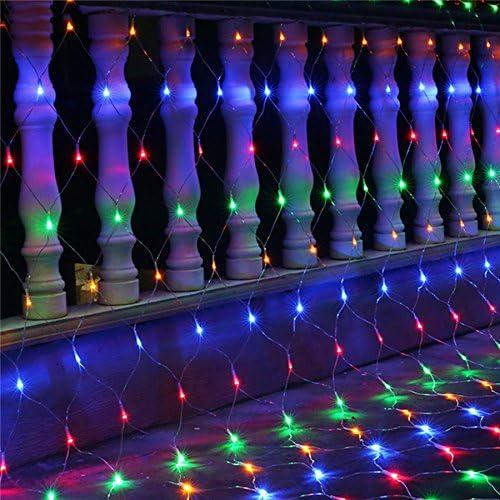 Led Net Mesh Fairy String Light, luces de cuento de hadas, luces de hadas de cuento de hadas, luces de hadas led con pilas, 3x2 m, cortinas de luz de hadas: Amazon.es: