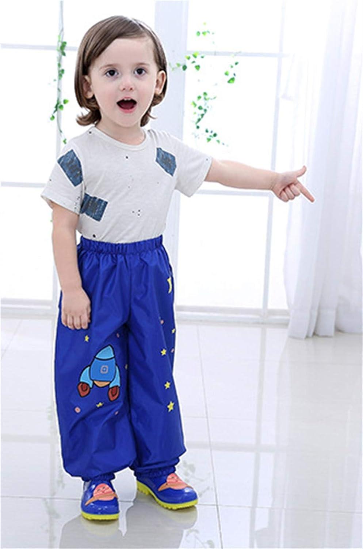 SK Studio Kinder Regenjacke Wasserdicht PVC Regenmantel mit Kapuze Regenponcho Regenbekleidung Anzug f/ür Jungen M/ädchen