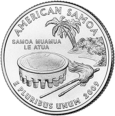 2009 P American Samoa State Quarter Choice Uncirculated
