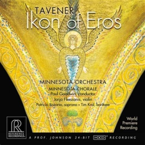 Cover of Tavener: Ikon of Eros