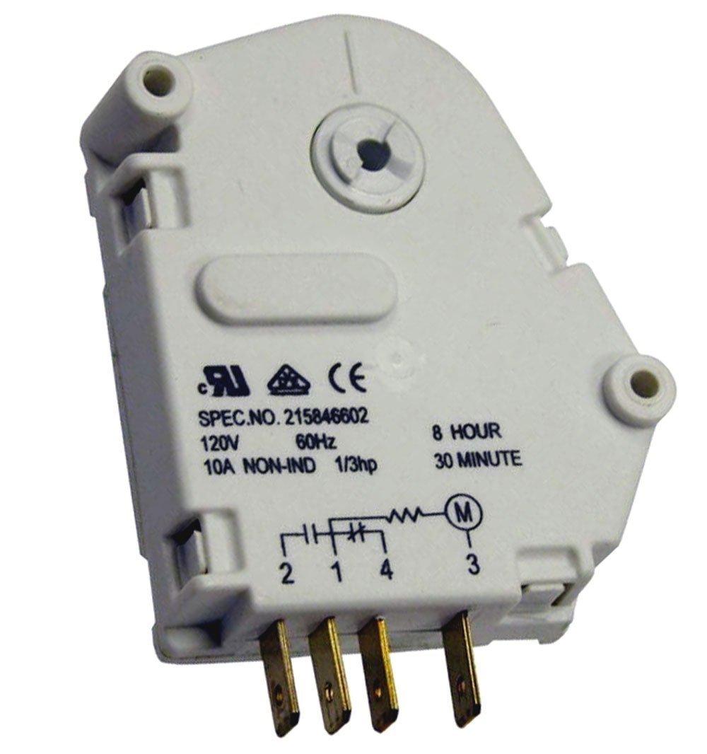 215846602 - OEM FACTORY ORIGINAL FRIGIDAIRE ELECTROLUX DEFROST TIMER ( 8HR 30 MINUTE )