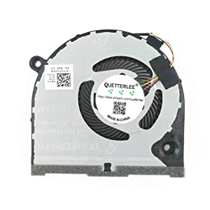 QUETTERLEE Replacement New CPU Cooling Fan for DELL inspiron Game G3 G3-3579 G3-3771 G5 15 5587 Series 0TJHF2 DFS481105F20T FKB6 Fan