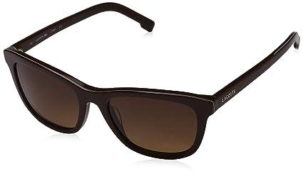 9785c59b7c Amazon.com  Lacoste L740S (210) Black Sunglasses 52mm  Sports   Outdoors