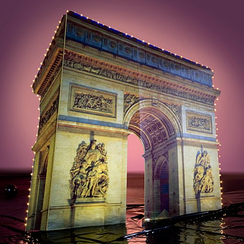 Lights Arc de Triomphe Standee by Shindigz