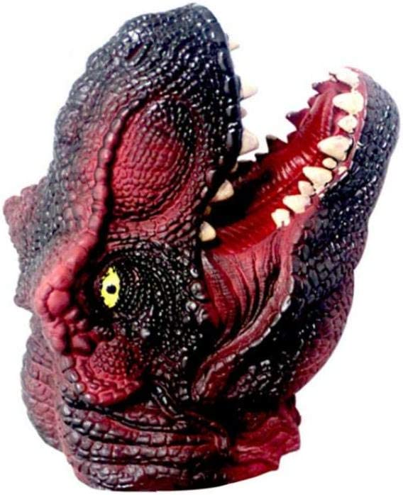 OMMO LEBEINDR Animal Marioneta De Mano Infantil Niños Marioneta De Mano Modelo Grande Regalo De Los Niños Juguetes (Rojo del Dinosaurio) Juguetes Figuras