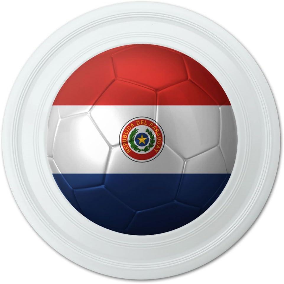 Bandera de Paraguay balón de fútbol Futbol fútbol novedad 9 ...