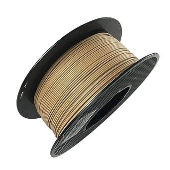 Uniqstore Wood PLA Impresora 3D Filamento 1.75mm 1KG Efecto de ...