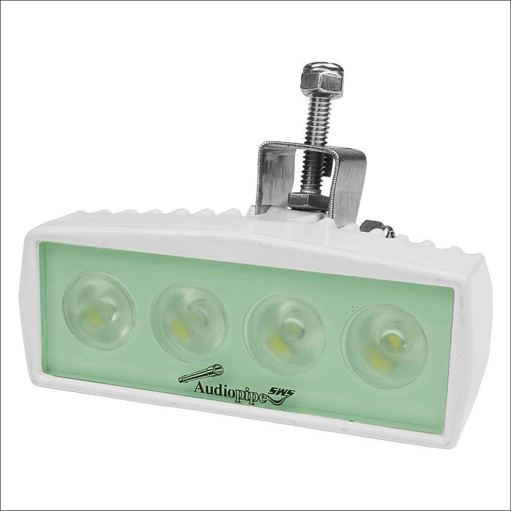 Boat Audiopipe Marine Deck Flood Light MLD-1200 Marine SOLD INDIVIDUALLY