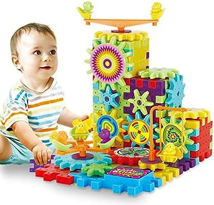 9 Pcs Building Blocks Bricks Baby Children Kids Educational Puzzle Toy Gift