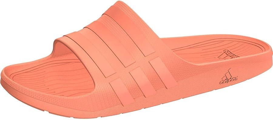 Chaussures Mixte Adulte Adidas Duramo Slide Chaussures de Plage ...