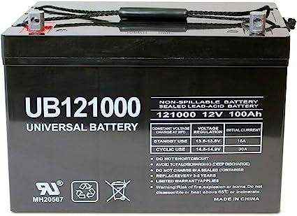 Universal Power Group 12V 100Ah