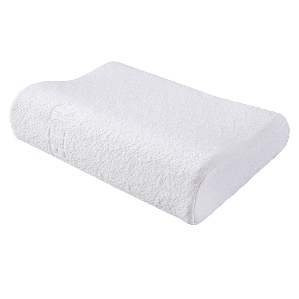 FMS 3-12 Years Memory Foam Pillow for Kids 6/8 cm (2.36/3.14 inch) height Sleeping Pillow for Child with pillowcase (3-12 Years)