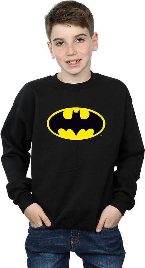 DC Comics niños Batman Logo Camisa De Entrenamiento: Amazon.es: Ropa y accesorios