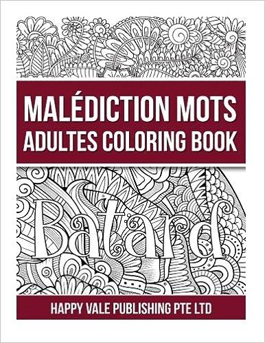 Amazoncom Malas Palabras Adulto Libro De Colorear Spanish Edition