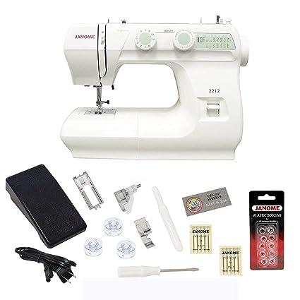 amazon com janome 2212 sewing machine includes exclusive bonus rh amazon com Janome 3022 Janome Sewing Machines