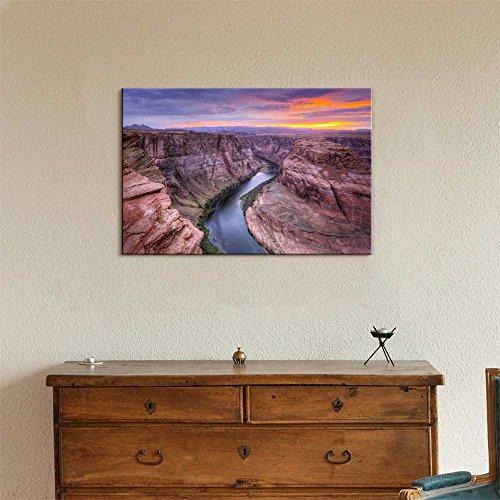 Beautiful Scenery Landscape Colorado River at Horseshoe Bend Page Az Wall Decor