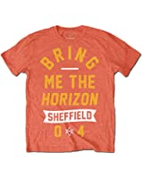 BRING ME THE HORIZON - SHEFFIELD 04' - OFFICIAL MENS T SHIRT