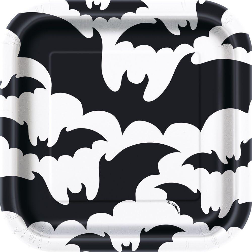 Halloween Bat Paper Plates
