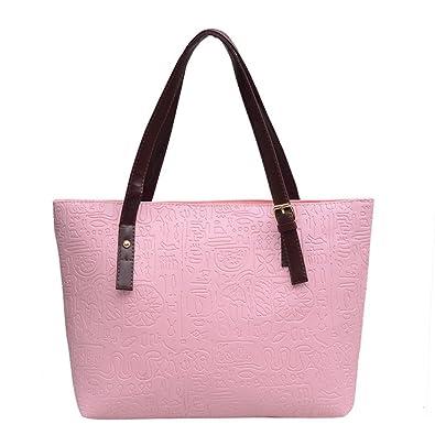 8e90cbb3cd73 Amazon.com  Aelicy Luxury Women Ladies Big Totes Handbags Designer PU  Leather Crossbody Bag Fashion Female Messenger Bags Shoulder Bag Color F   Shoes