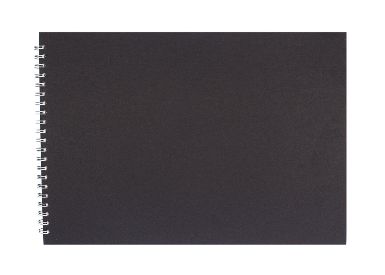 Pink Pig Posh Eco - Raccoglitore per presentazione, formato A3 orizzontale, 25 fogli, colore: Nero The-Pink-Pig.Co.Uk Ltd 58358