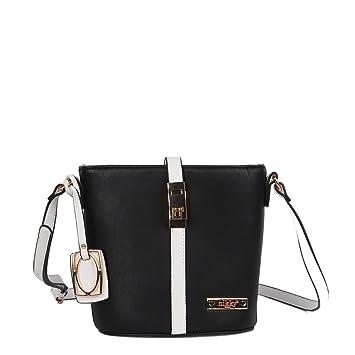 e64f72915a Amazon.com  Nikky Women s Functional Spacious Black Crossbody Bag Cross  Body