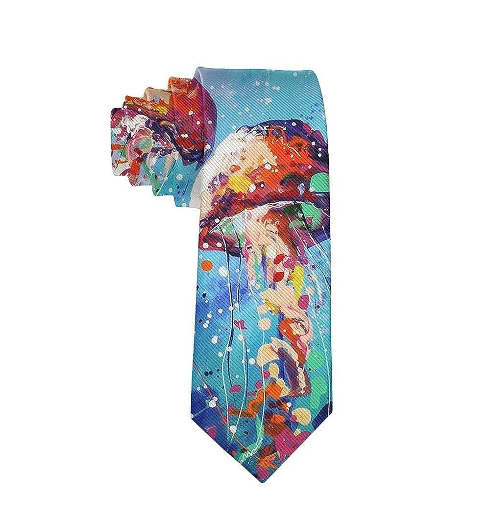 Neckties Gift for Men Fashion 3D Printed Mens Ties Boys Teens