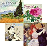Father's Day Gift - Art Inspired Music Van Gogh, Renoir and Japanese - 4 CD SET + BONUS CD {jg} Great for mom, dad, sister, brother, grandparents, aunt, uncle, cousin, grandchildren, grandma, grandpa, wife, husband, relatives and friend.