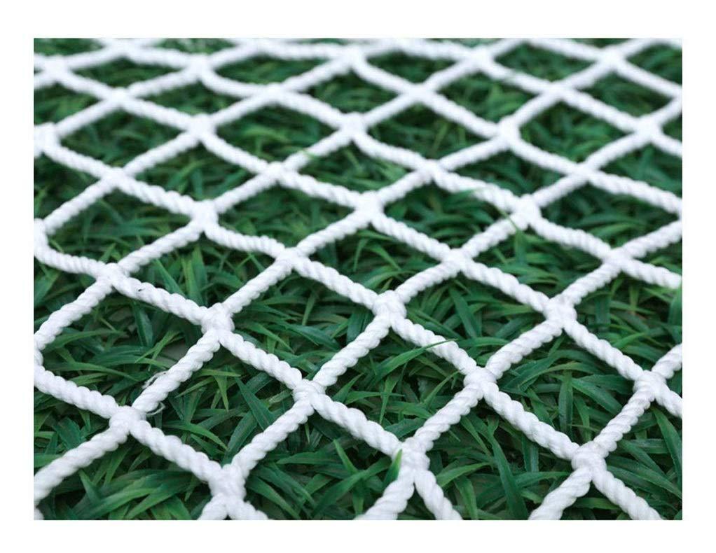 階段安全ネット屋外トレーニング開発保護ネット壁装飾ロープネットバルコニー屋外登山落下防止ネット (Color : 10cm, Size : 1*7m) 10cm 1*7m