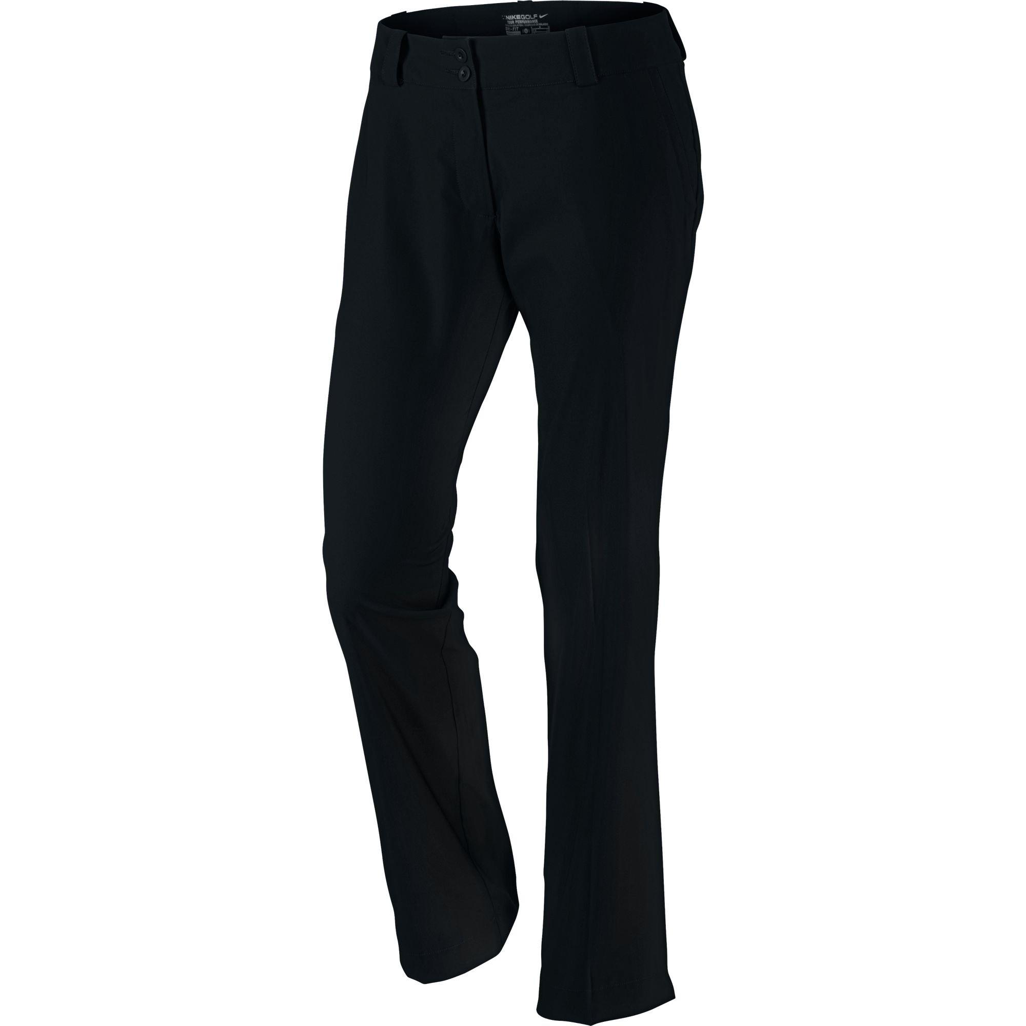 Nike Modern Rise Tech Golf Pants 2015 Women Black 14
